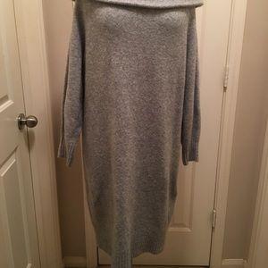 H&M Off Shoulder Sweater Dress